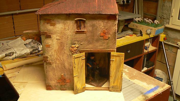 Come costruire un presepe in legno fai da te for Planimetrie semplici della casetta di legno