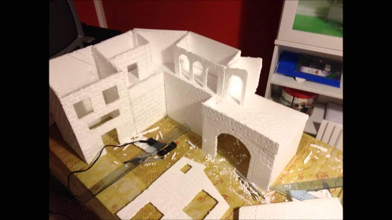 Come costruire un presepe fai da te in polistirolo - Costruire un case ...