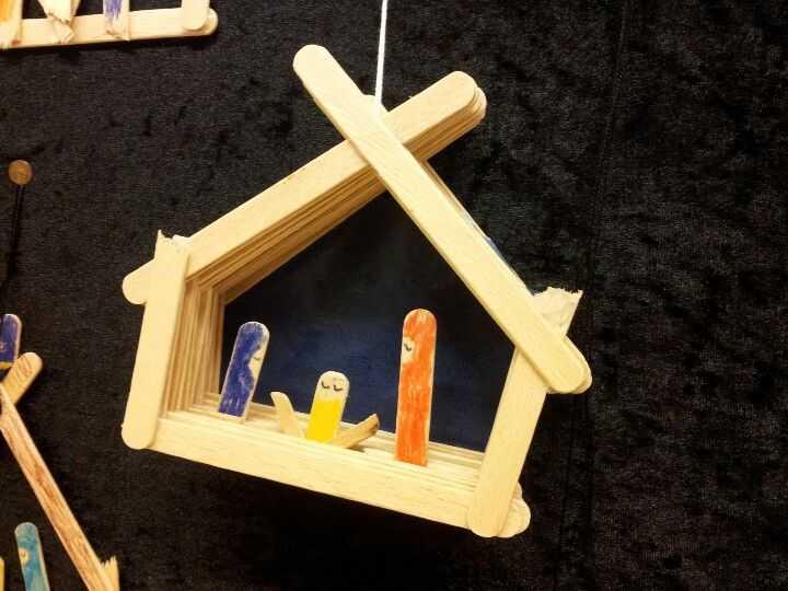 Presepe Con Bastoncini Di Legno : Come fare presepe con i bastoncini di legno ideepresepe